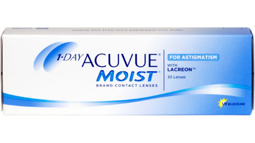 1-DAY ACUVUE MOIST for ASTIGMATISM 30pk 1