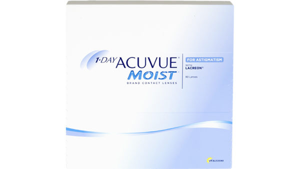 1-DAY ACUVUE MOIST for ASTIGMATISM 90pk 1