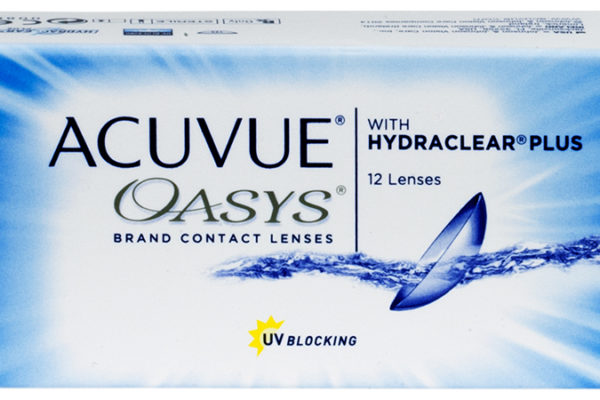 ACUVUE OASYS with HYDRACLEAR PLUS 12pk