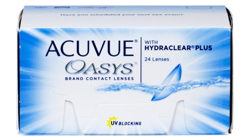 ACUVUE OASYS with HYDRACLEAR PLUS 24pk 1